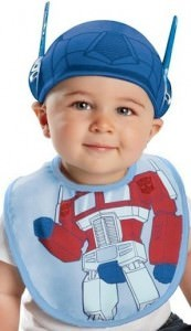 Transformers Bib and Hat
