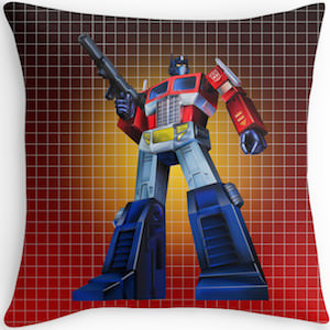 Transformers Optimus Prime Pillow
