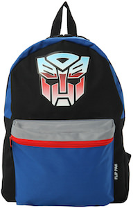 Autobot VS Decepticon backpack from the Transformers