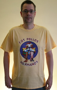 Breaking Bad Los Pollos Hermanos logo t-shirt