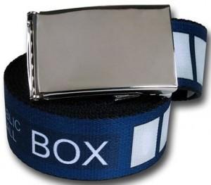 Doctor Who Tardis Belt