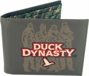 Duck Dynasty Group Silhouette Wallet