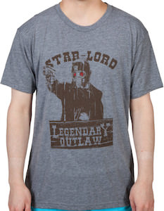 Guardians of the Galaxy Star-Lord Outlaw T-Shirt