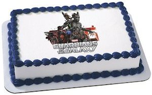 Guardians of the Galaxy Edible Cake Topper Image