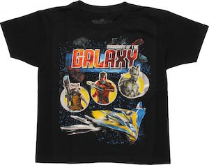Guardians of the Galaxy Trio Kids T-Shirt