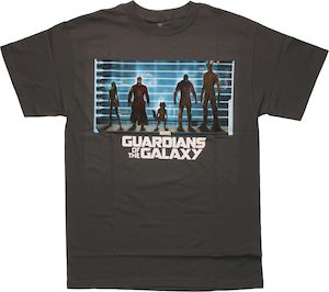 Marvel Guardians of the Galaxy Line Up T-Shirt