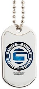Guardians of the Galaxy Logo Dog Tag Necklace
