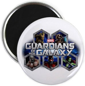 Guardians of the Galaxy Magnet