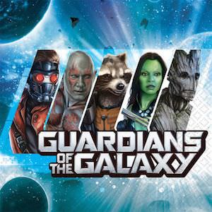Guardians of the Galaxy Napkins