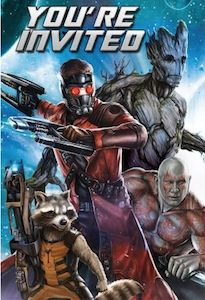 Guardians of the Galaxy Party Invitations
