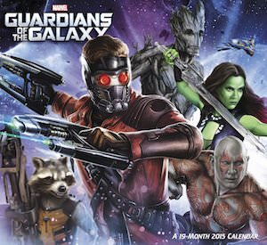 Guardians of the Galaxy 2015 Wall Calendar