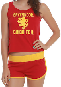 Harry Potter Quidditch Girls Sleep Set