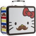 Hello Kitty moustache lunch box