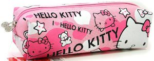 Hello Kitty Canvas Pencil Case