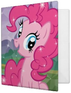 My Little Pony Pinkie Pie Binder by Avery