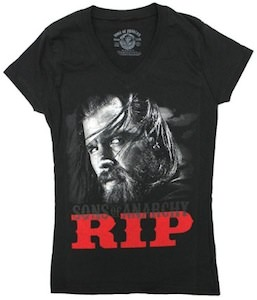 Sons Of Anarchy RIP Opie t-shirt