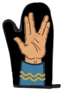 Spock Vulcan Salute Oven Mitt
