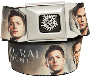 Supernatural seatbelt style belt
