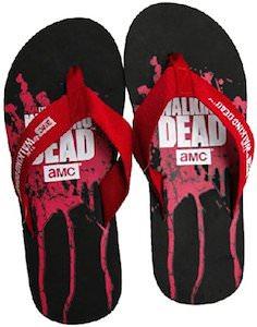 The Walking Dead Flip Flops