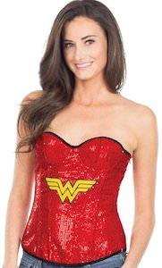 Wonder Woman Corset Style Top