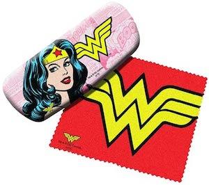 Wonder Woman glasses case