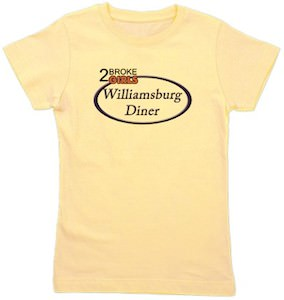 2 Broke Girls Williamsburg Diner T-Shirt