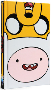 Adventure Time jake and finn journal