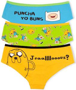 Adventure Time Women's Panties 3 Pack
