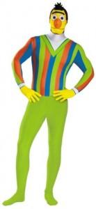 Bert Adult Jumpsuit Costume