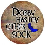 Dobby Has My Other Sock Button