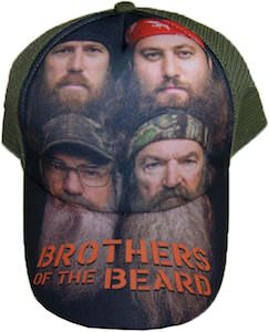 Duck Dynasty Brothers Of The Beard Baseball Cap