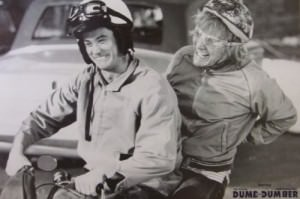 Dumb and Dumber Harry Lloyd Scooter Poster