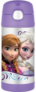 Frozen Anna And Elsa FUNtainer Bottle