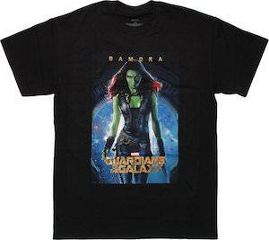 Guardians of the Galaxy Gamora T-Shirt