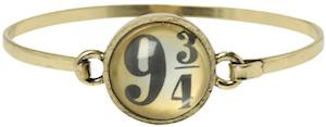 Harry Potter Platform 9 3/4 Bangle Bracelet