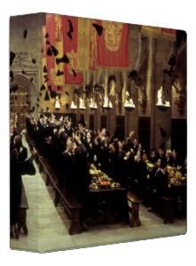 Harry Potter Hogwarts Hall Vinyl Binder