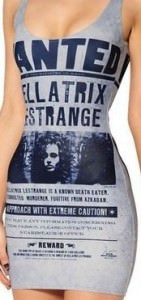 Harry Potter Wanted Bellatrix Dress