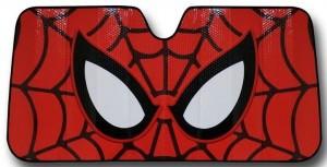 Spider-Man Mask Car Sunshade