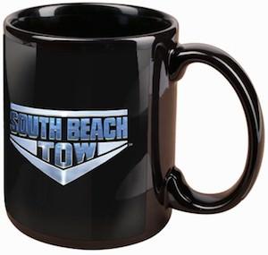South Beach Tow Logo Mug