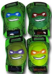 Teenage Mutant Ninja Turtles Kids Elbow and Knee Pads