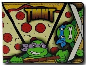 TMNT Pizza Pattern Wallet