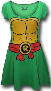 Teenage Mutant Ninja Turtles Raphael skater Dress