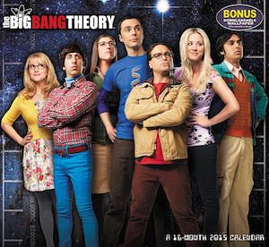The Big Bang Theory Wall Calendar for 2015