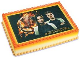The Hunger Games Edible Cake Topper Image