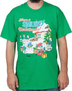 Have a Smurfy Christmas t-shirt
