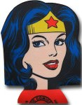 Wonder Woman Can and bottle Koozie