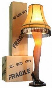 A Christmas Story Full Size Leg Lamp