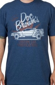 Back to the Future Doc Brown T-shirt