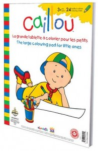 Caillou Large Coloring Pad
