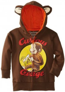 Curious George Childs Hoodie